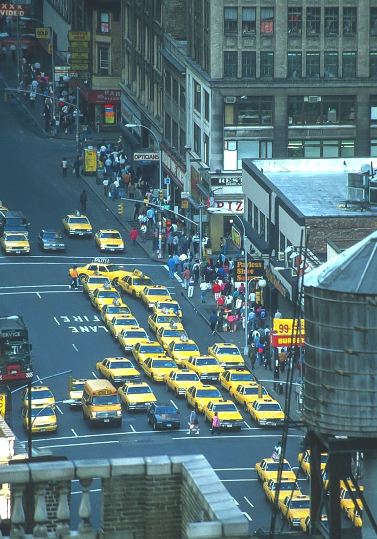 yellow Cabs 1993