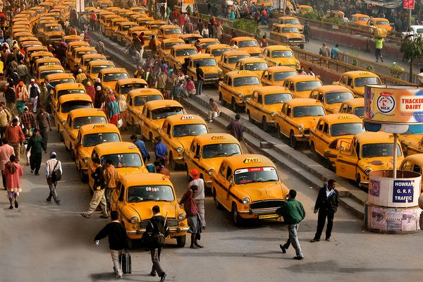 YELLOW CABS....