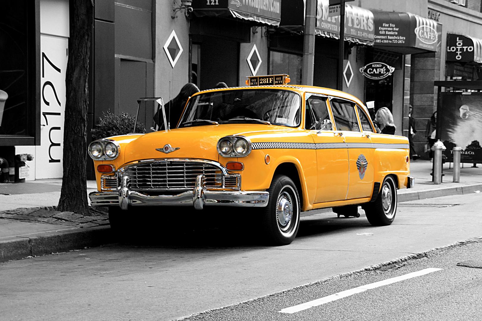 Yellow Cap - New York 2010