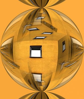 Yellow Houseball