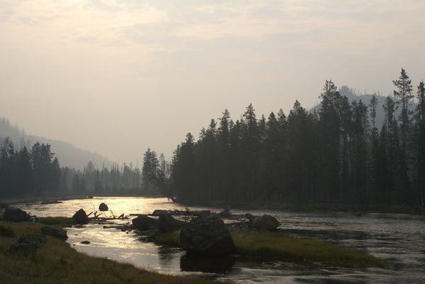 Yellowstone am Morgen