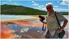 Yellowstone Foto Tour am Grand Prismatic Spring
