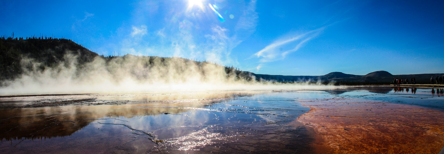 Yellowstone National Park - Prismatic Pool