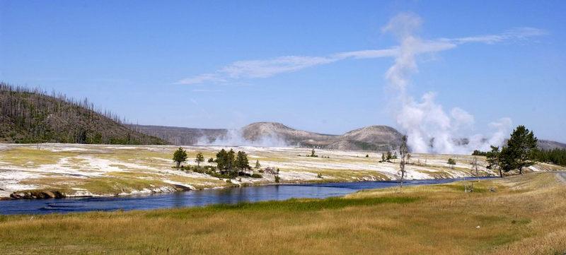 Yellowstone NP. USA