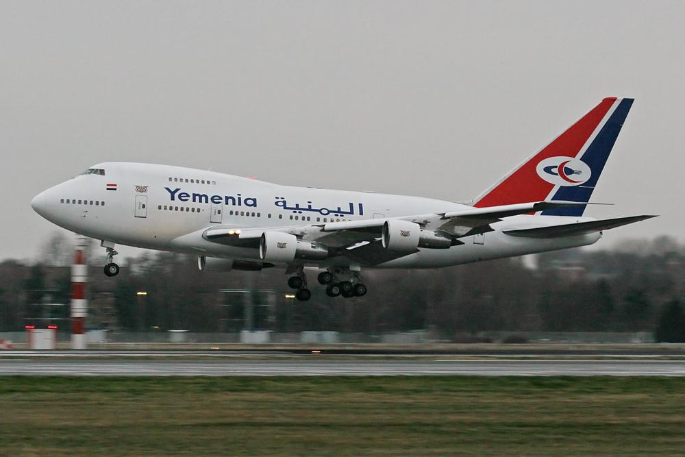 Yemenia 747-SP II.