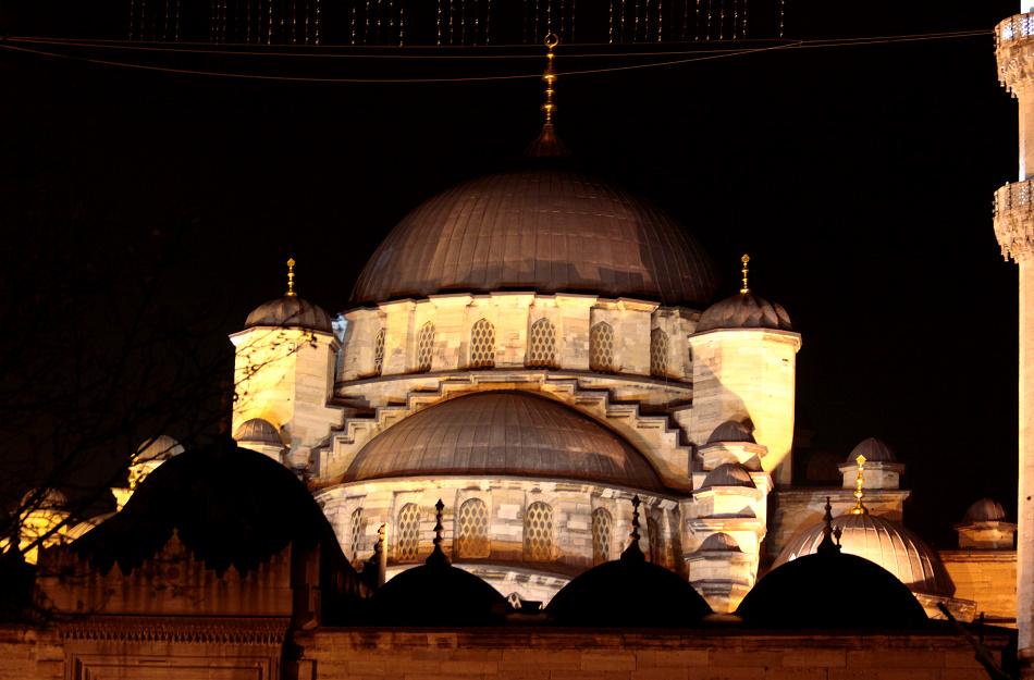 Yeni Cami - Die Neue Mosche bei Nacht