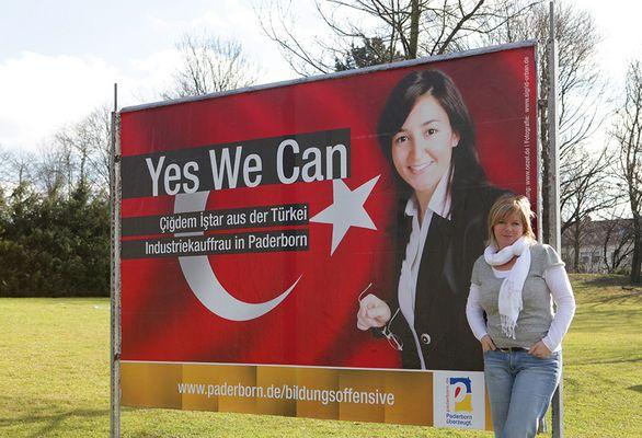Yes We Can Plakatkampagne Paderborn