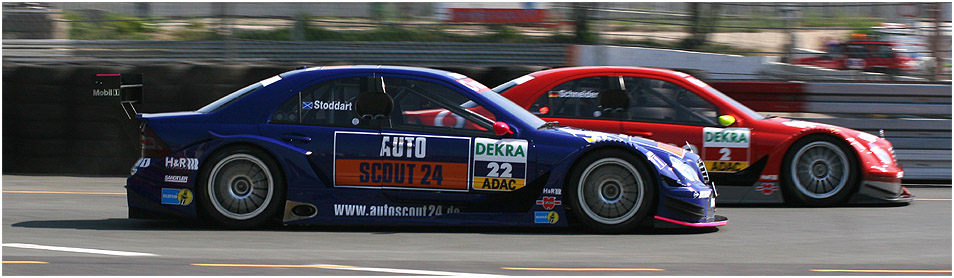 Yet another DTM... or: red > blue