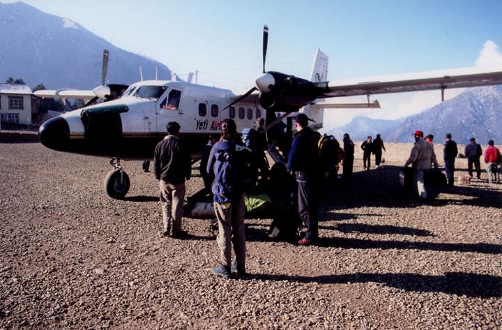 Yeti Airlines ist gelandet