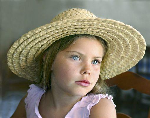 Yeux bleux 8 ans