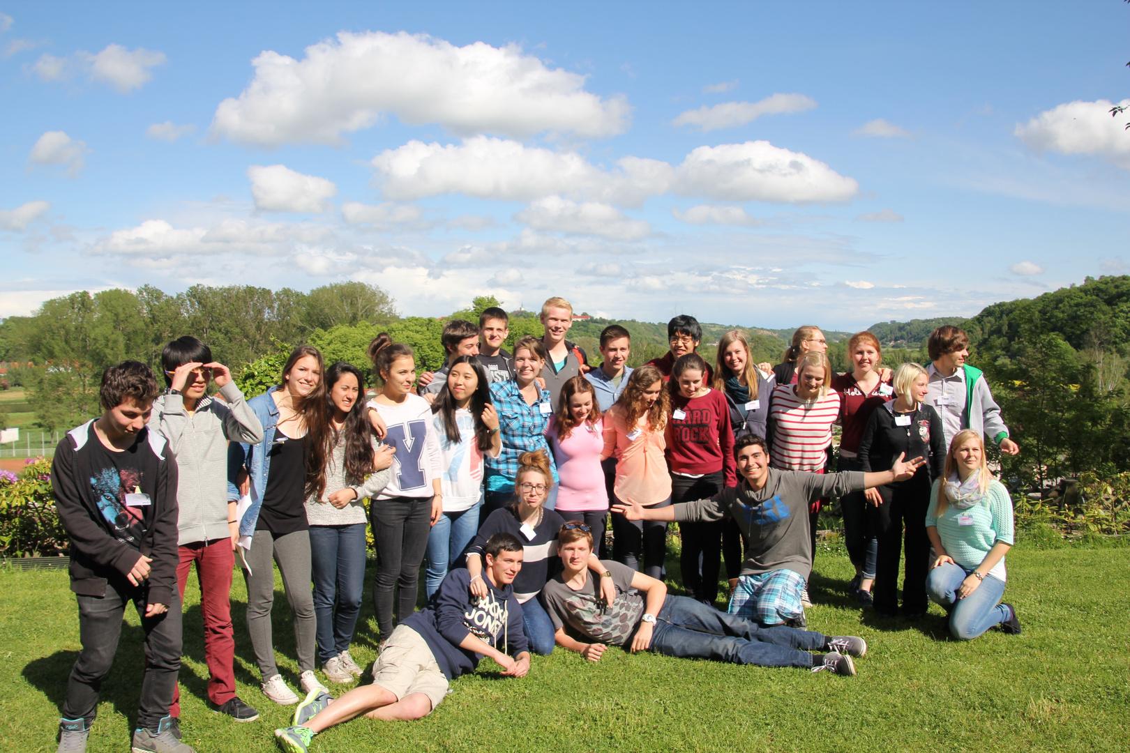 YFU Jugendliche nach einem Jahr Aufenthalt in Deutschland - es war schön