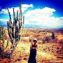Yo, en el desierto de la tatacoa - Huila, Colombia