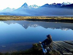 Yo, en Ushuaia, Argentina.