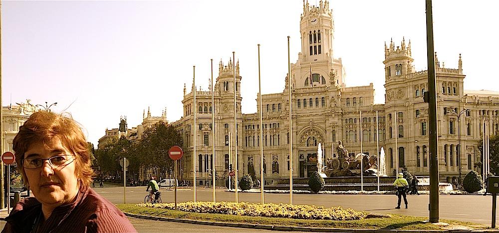 Yo estuve en Madrid.