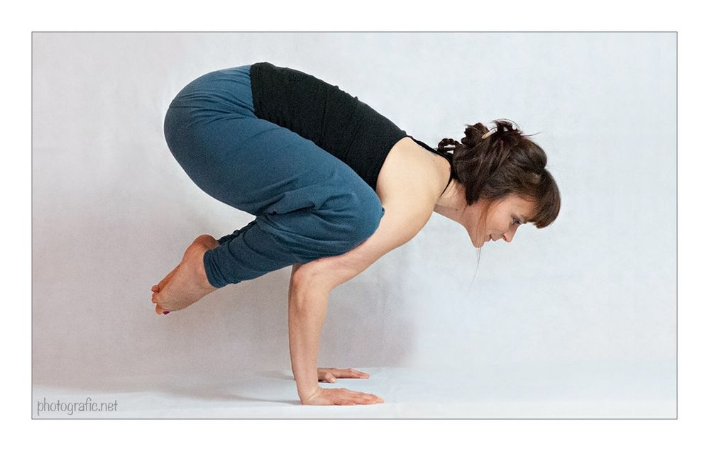 Yoga - Krähe