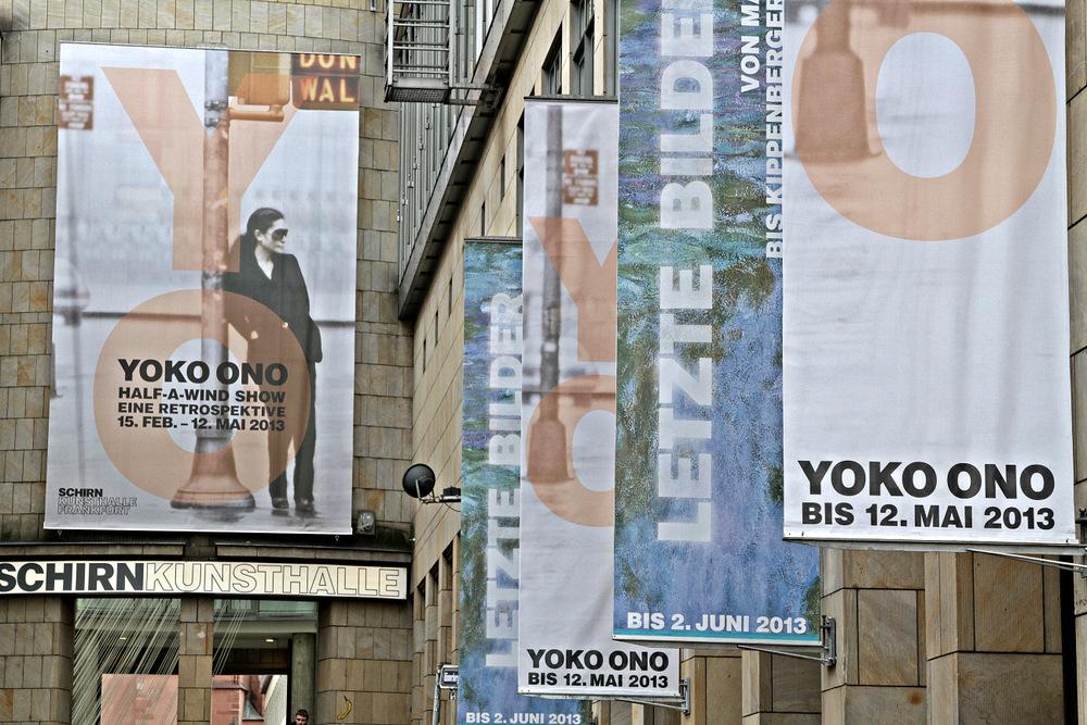 Yoko Ono in der Schirn