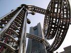 Yokohama: Skulptur vor dem Landmark-Tower