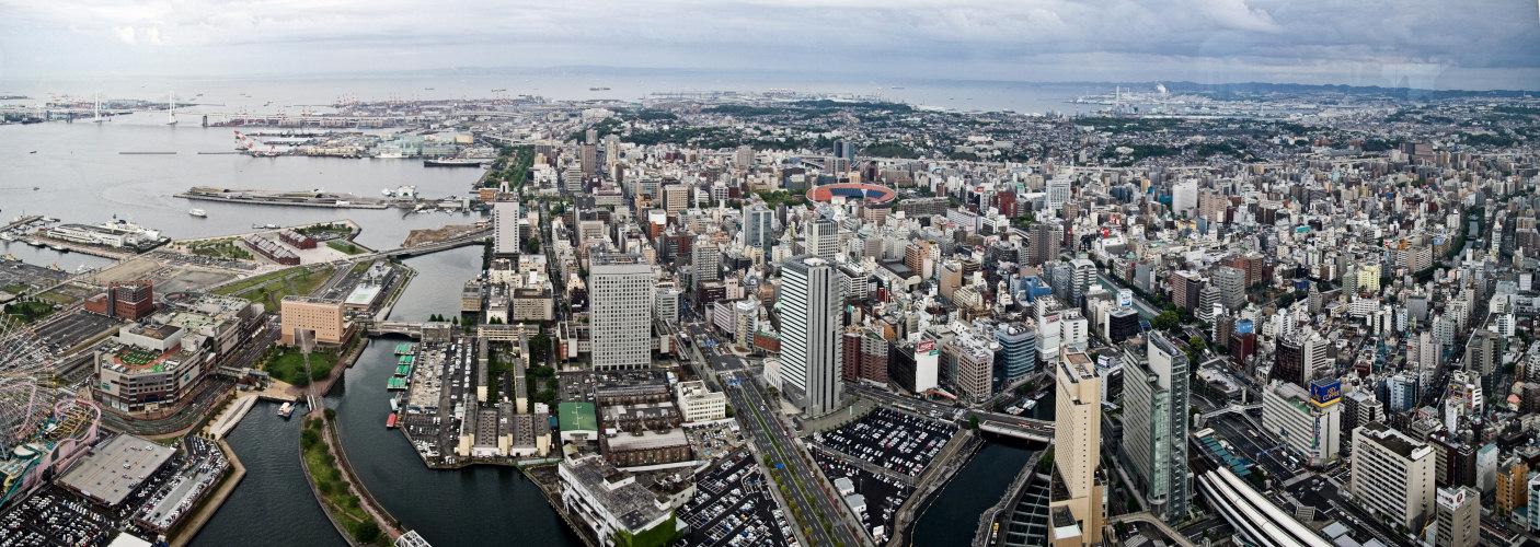 Yokohama von oben