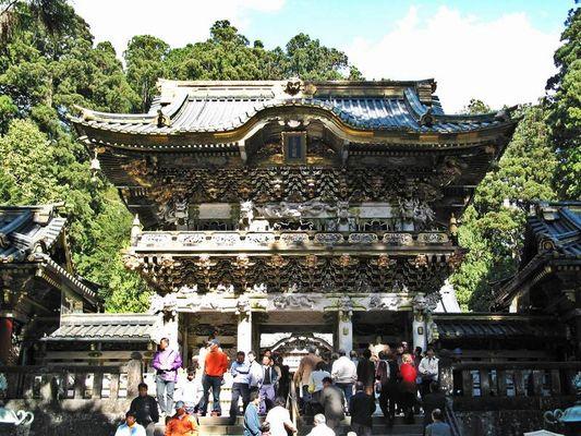 Yomeimon-Tor im Tosho-gu-Schrein in Nikko