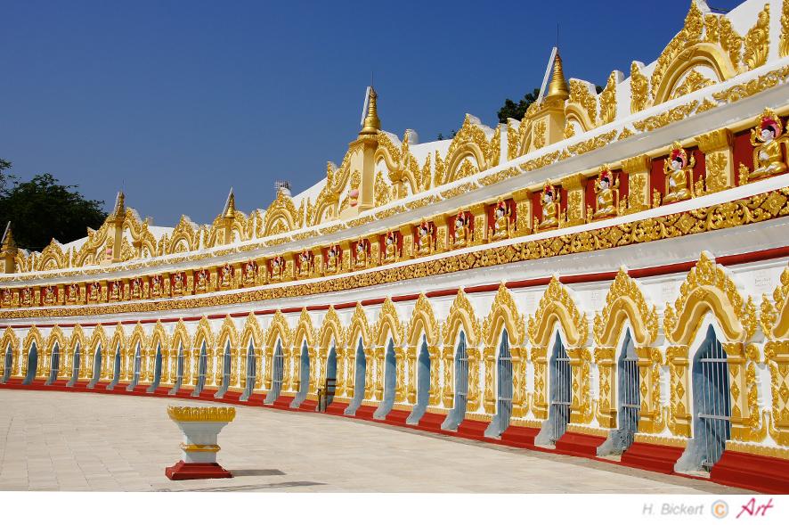 Yon-Tempel bei Mandalay