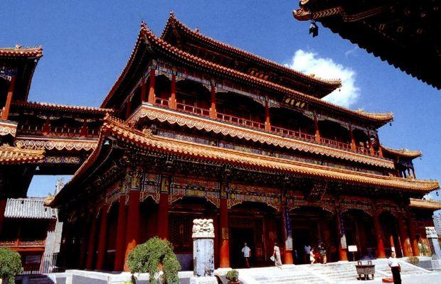 Yonghegong-Lamatempel