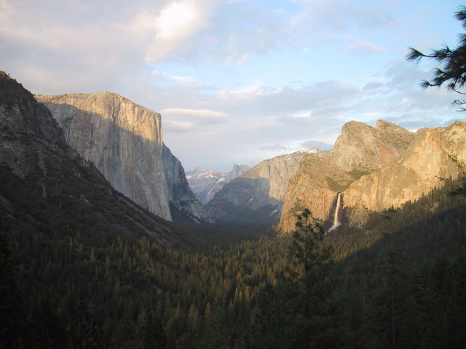 Yosemite, April 2004
