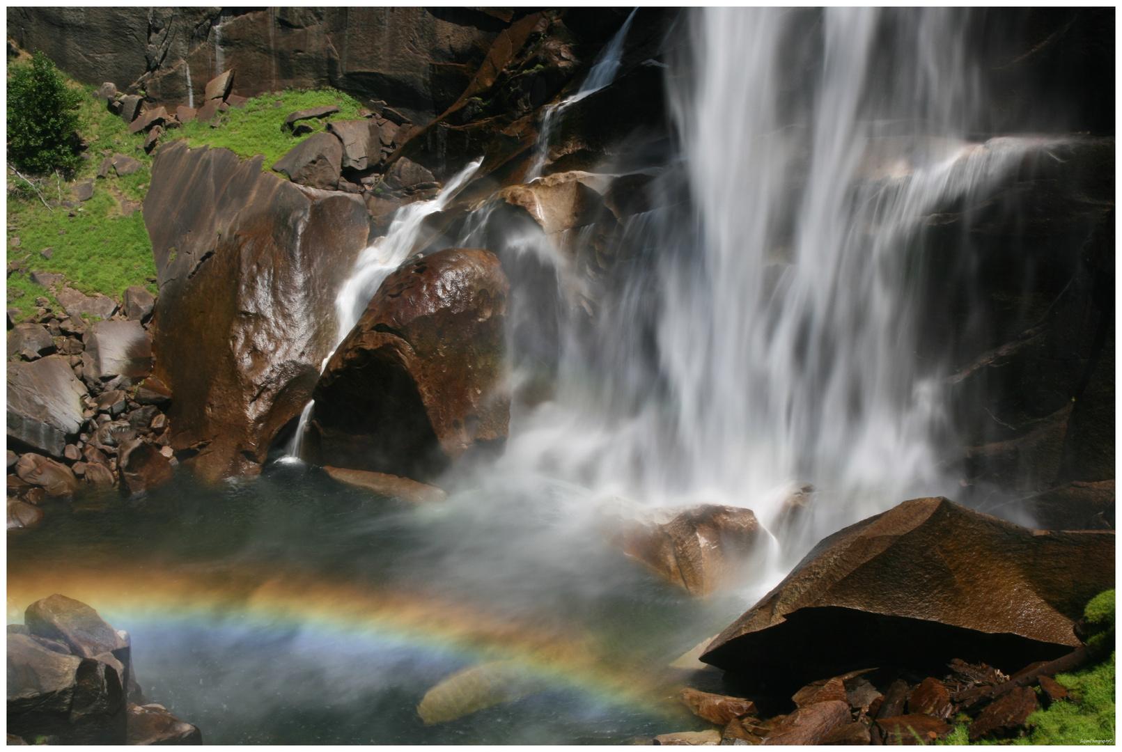 Yosemite National Park - Am Fuß des Vernal Fall
