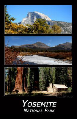 Yosemite National Park in Kalifornien, USA
