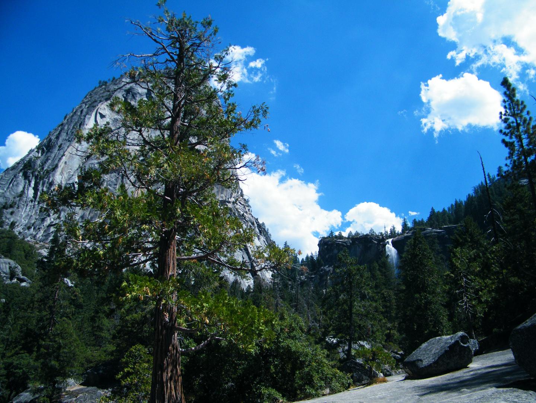 Yosemite Nationalpark am Nevada Fall