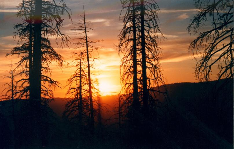 Yosemite Nationalpark - Sonnenuntergang