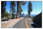 Yosemite NP - Nahe Glacier Point