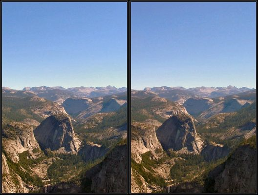 Yosemite Park Glacier's Point