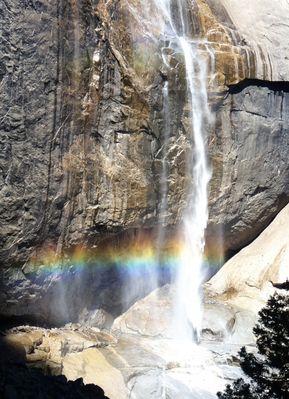 Yosemite rainbow, 2011
