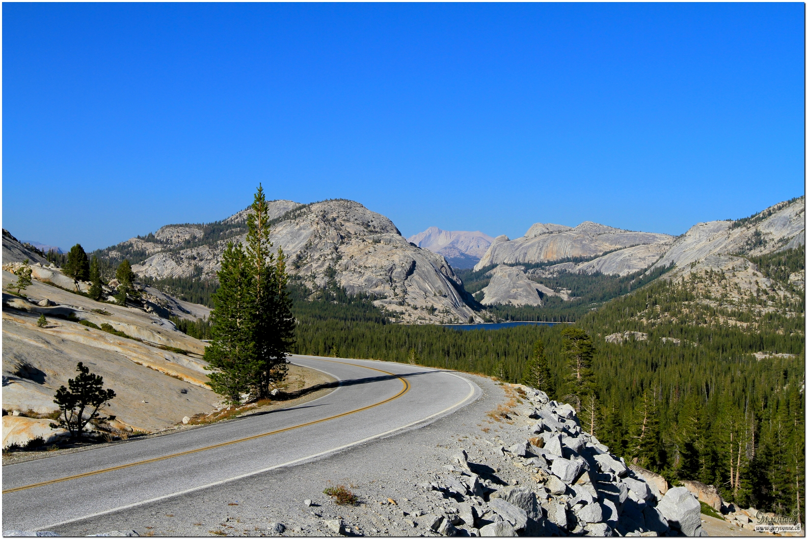 Yosemite, Tioga Road