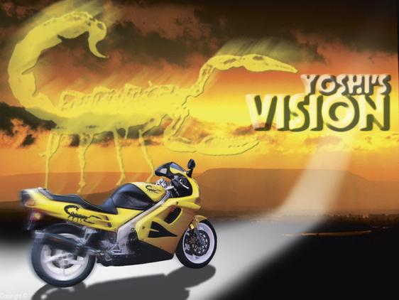Yoshi's VISION - Yellow