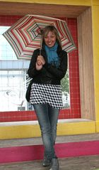 You can stand under my umbrella!