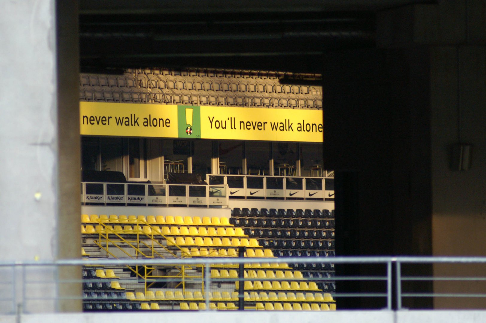 You'll never walk alone ;-)