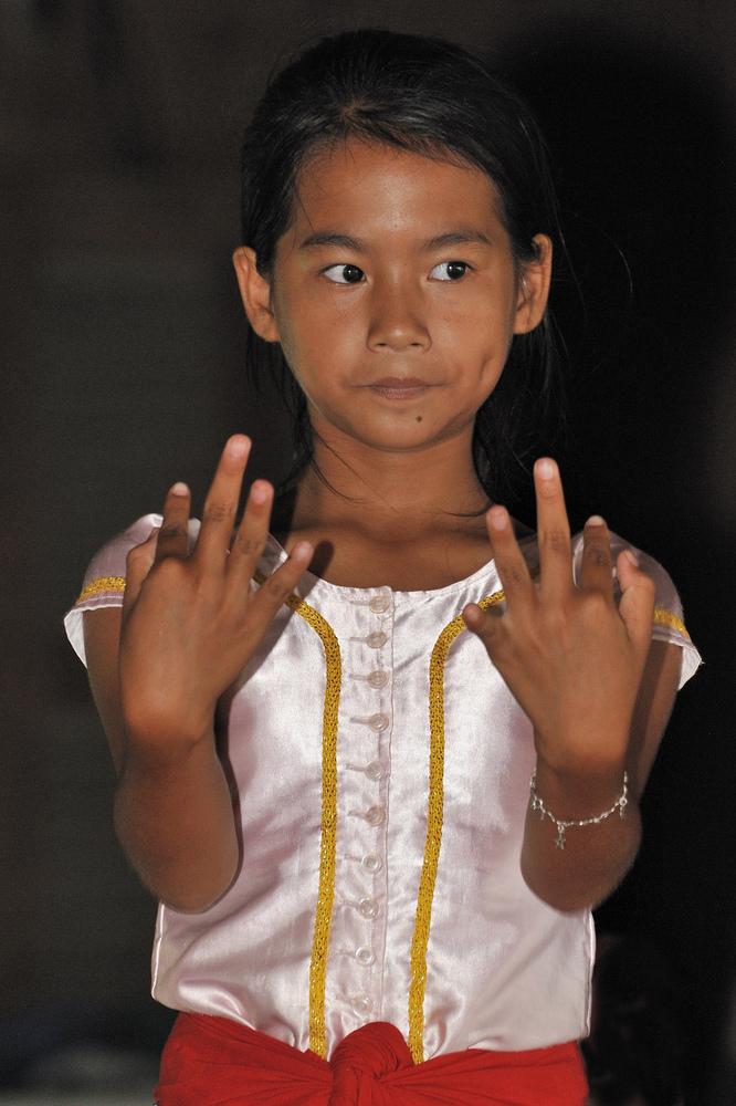 Young Apsara Dancer 1