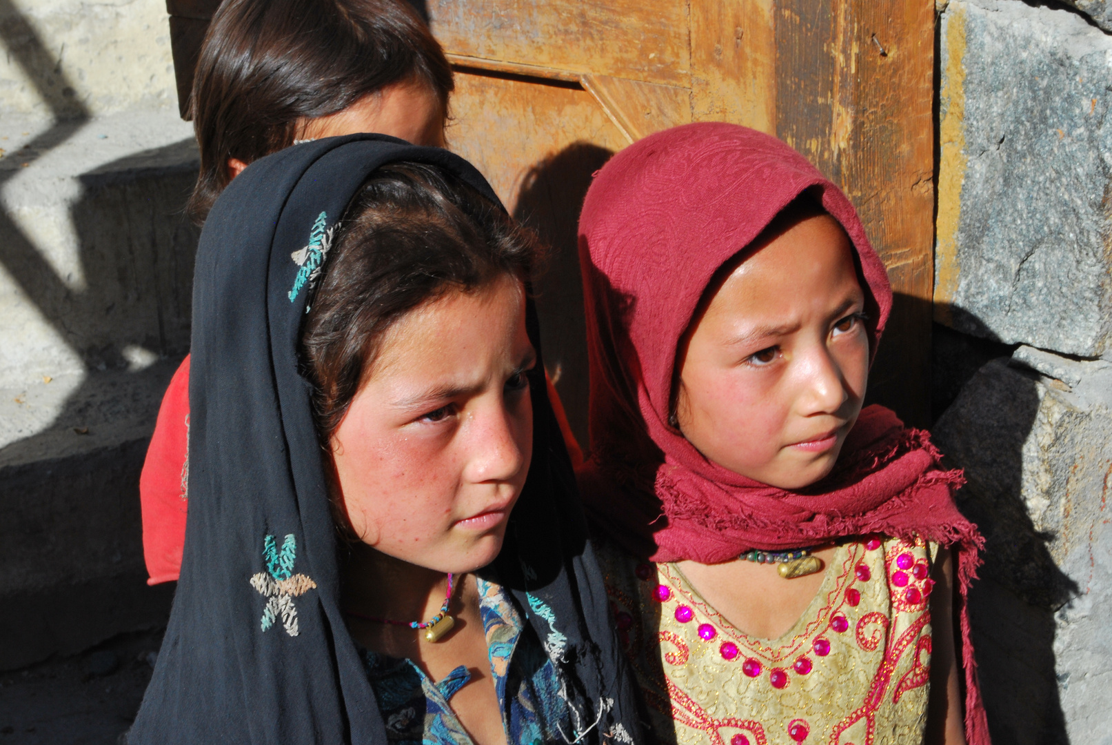 Young Baltistani Girls in Turtuk