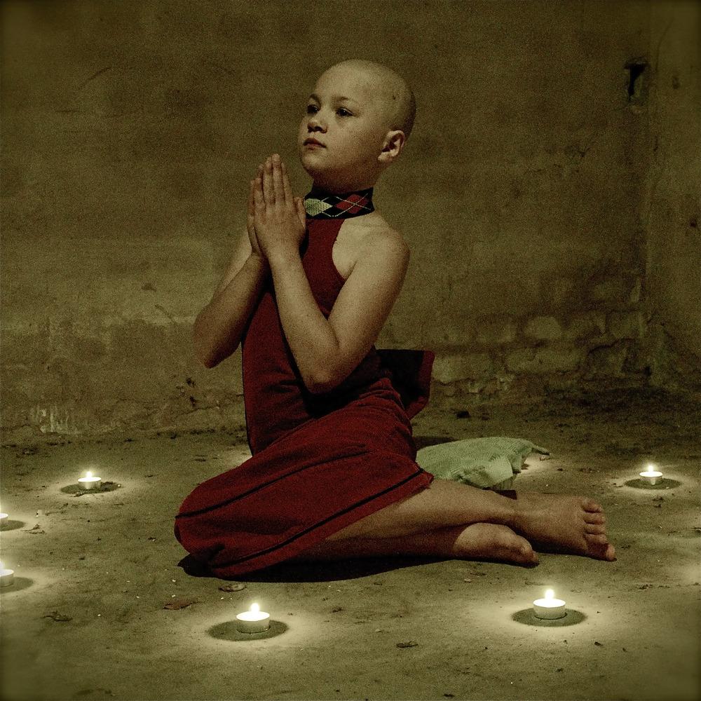 young buddhist von Sandra Trommler