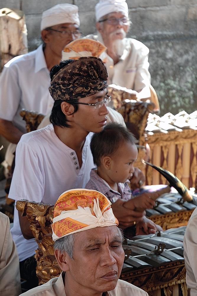 Young Gamelan musican