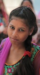 young indian woman