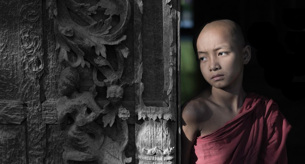 [ …young monk  ]
