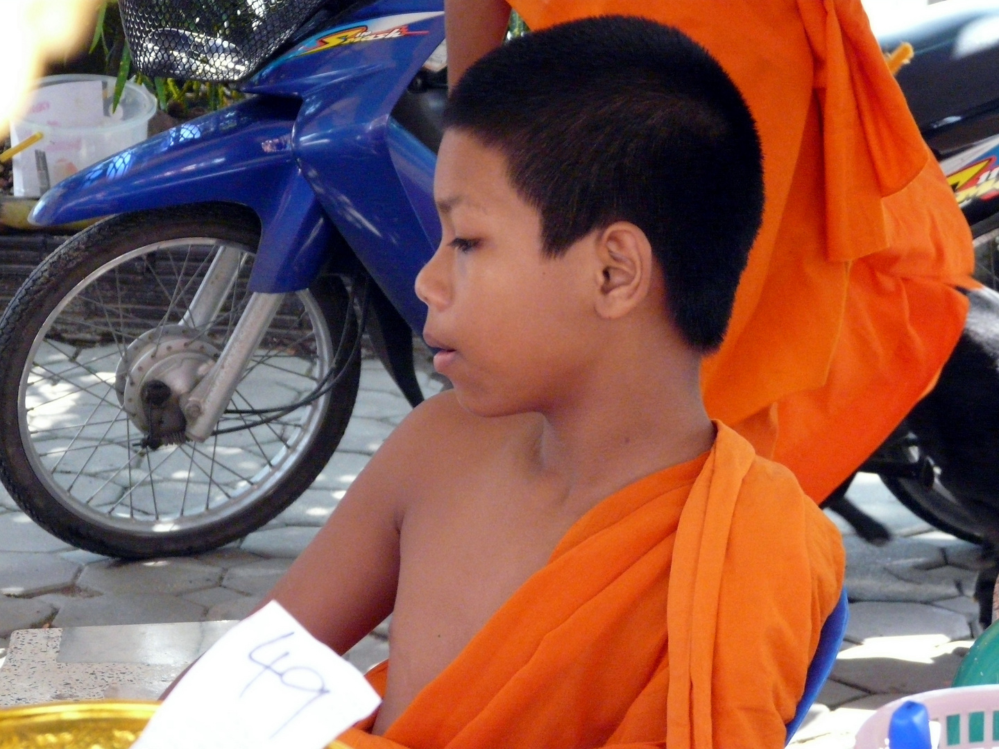 young monk koh samui