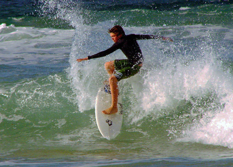 Young Surfer