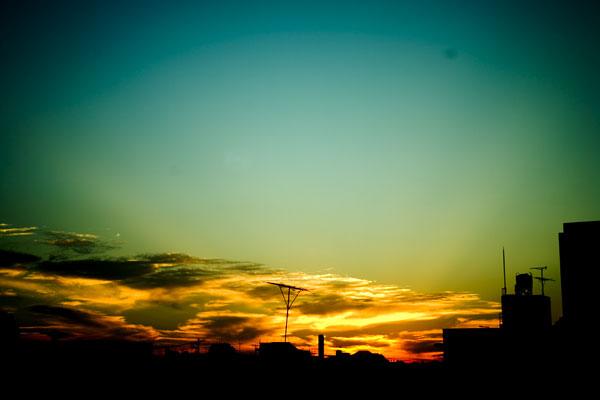 """""""yu-yake"""" is sunset."""