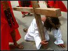 Yucatan, Passion du Christ à Acanceh.