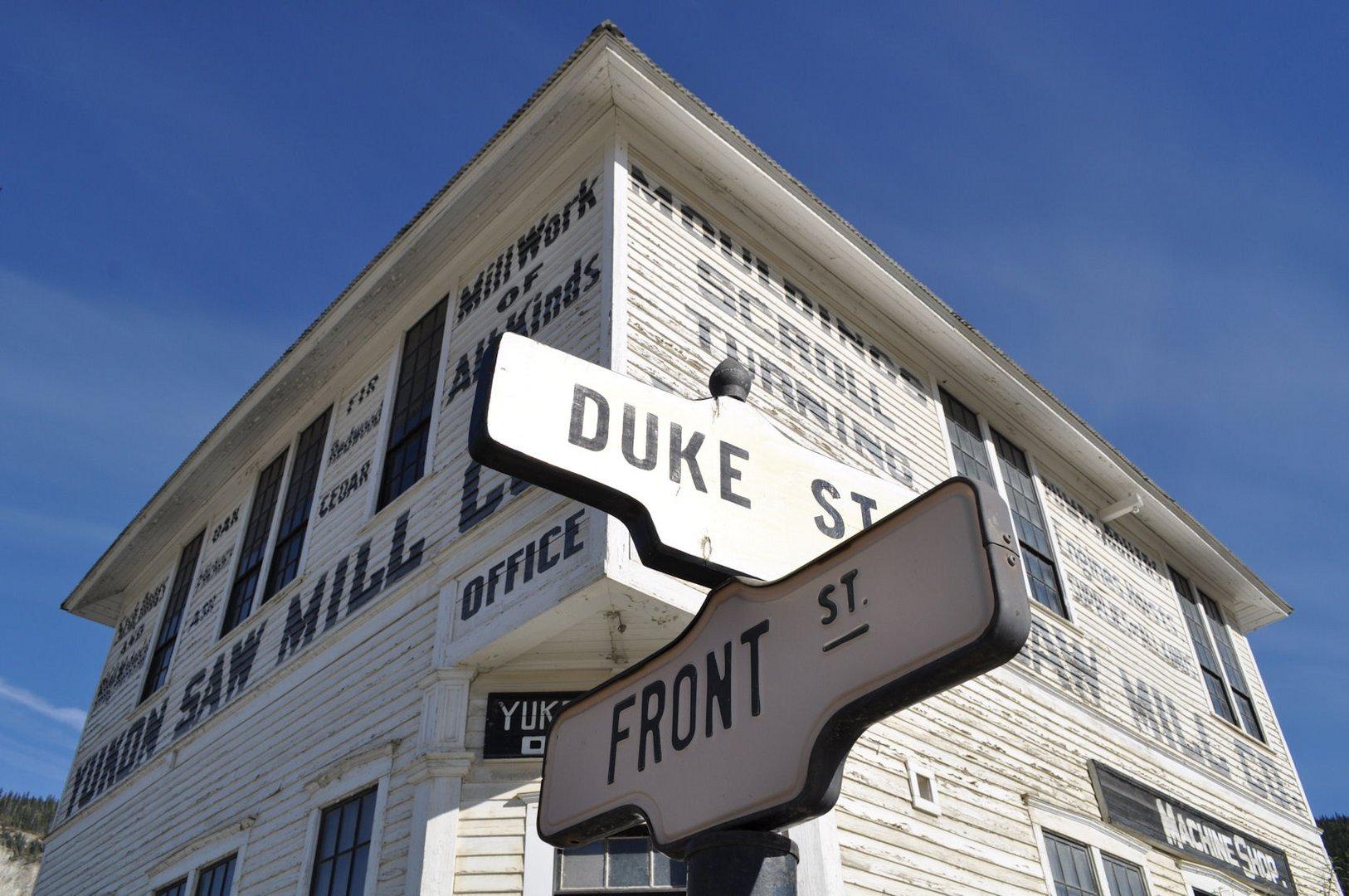 Yukon Saw Mill - ein Stück Vergangenheit in Dawson City