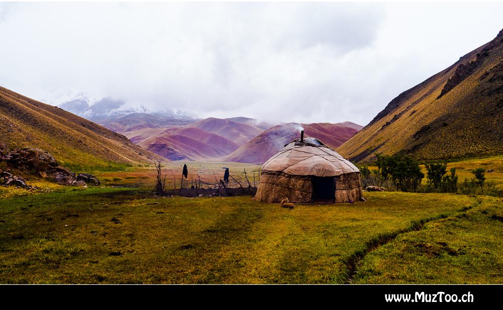 Yurte in Kirgistan