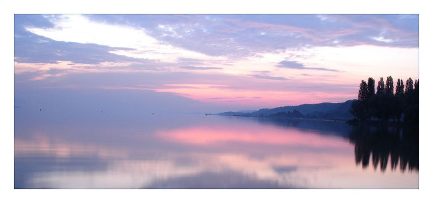 Yverdon les Bains – Sonnenaufgang